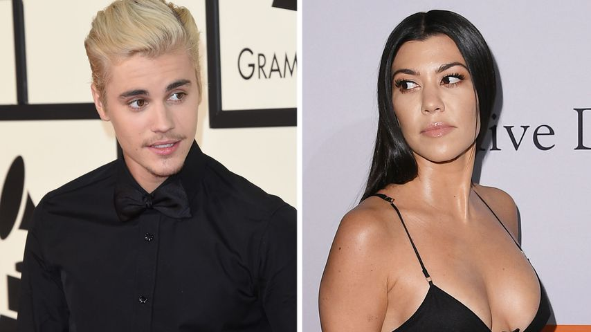 WAS läuft da? Kourtney K. mit Justin Bieber vorm Altar!