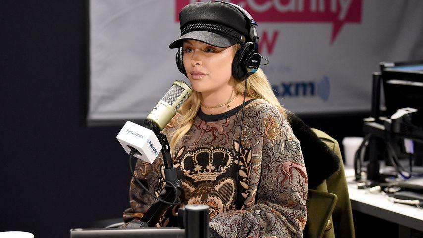 Lala Kent in einer Radioshow von Sirius XM