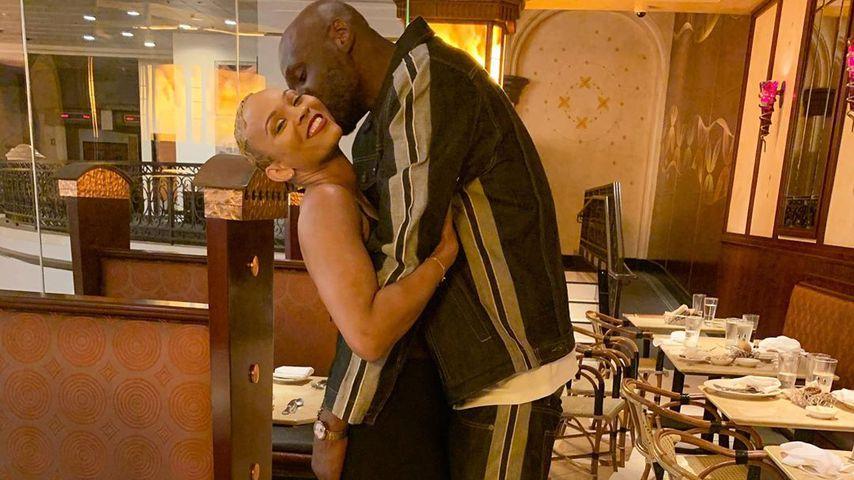 Ex-Basketballer Lamar Odom und Sabrina Parr