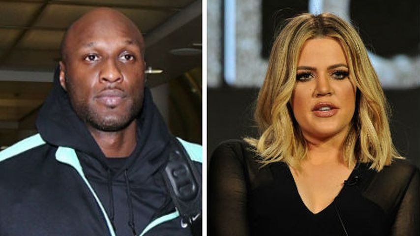 Lamar übergibt sich im Flieger: Jetzt reagiert Khloe darauf!