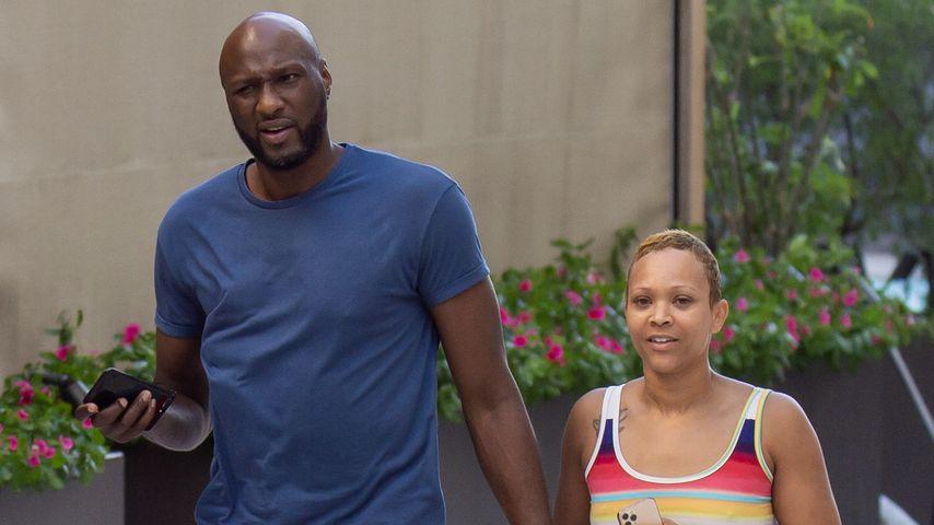 Hier zeigen sich Lamar Odom und Sabrina nach Blitz-Verlobung