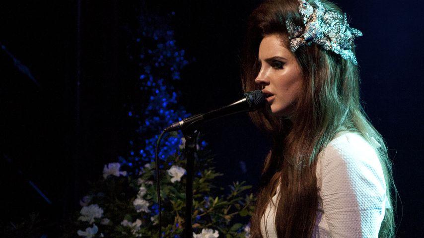 Lana Del Rey bei einem Konzert in Los Angeles
