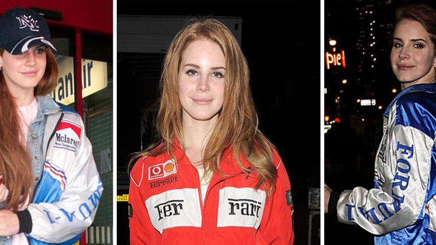 Lana Del Rey & ihre Vorliebe für Formel 1-Jacken