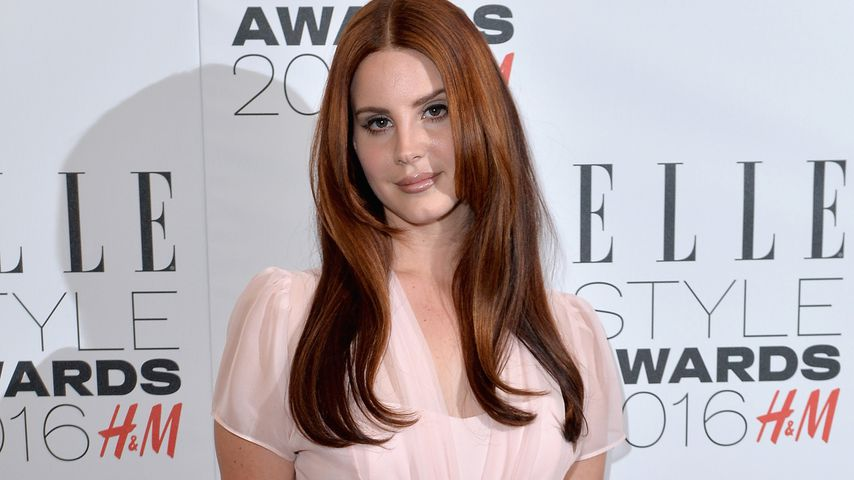 Lana Del Rey bei den Elle Style Awards in London
