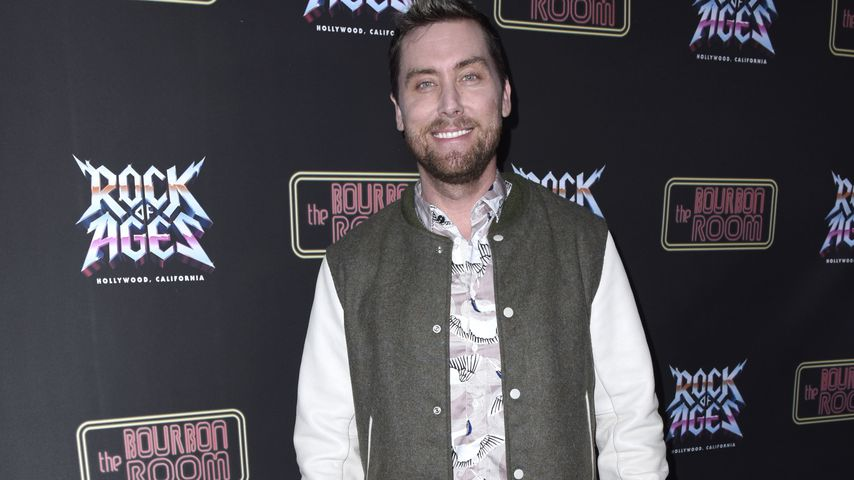 """Lance Bass bei der """"Rock of Ages""""-Premiere in Hollywood im Januar 2020"""