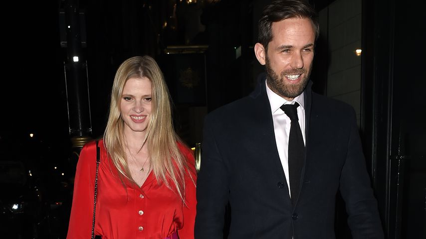 Lara Stone und ihr Verlobter David Grievson im Februar 2020