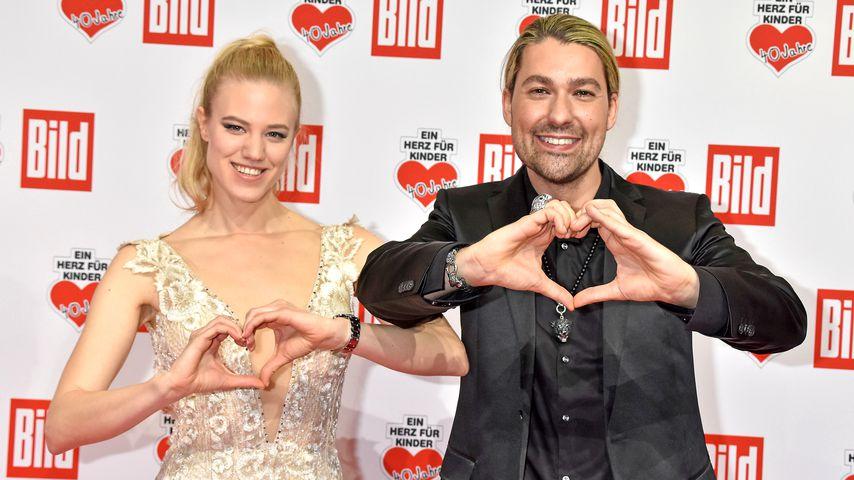 Halten Händchen: Larissa Marolt & David Garrett ein Paar?