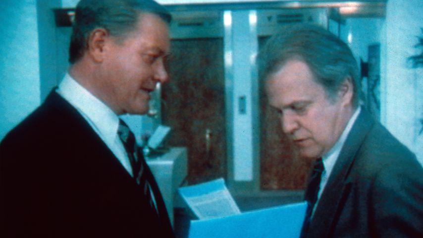 "Larry Hagman und Ken Kercheval in ""Dallas"""