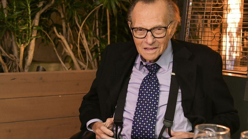 Larry King im Friars Club in Beverly Hills im November 2019