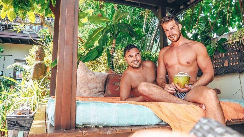 Lars Steinhöfel und Freund Dominik auf Koh Samui