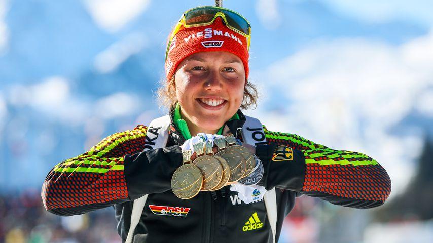 Laura Dahlmeier, Profi-Biathletin