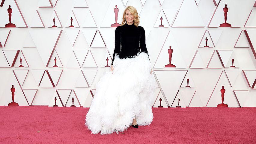 Laura Dern bei der Oscar-Verleihung in Los Angeles, April 2021