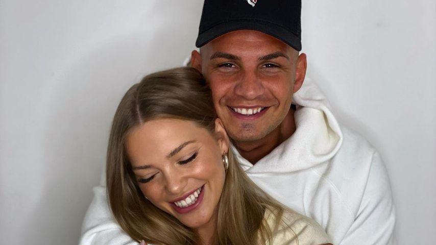Laura Maria und Pietro Lombardi, September 2020