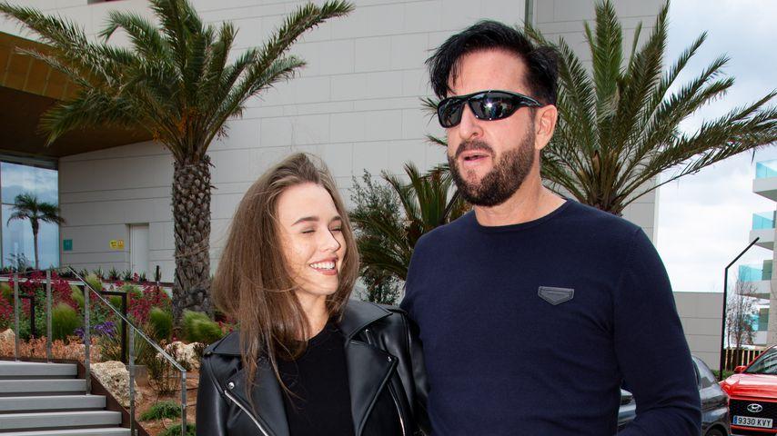 Laura Müller und Michael Wendler auf Mallorca, Mai 2019