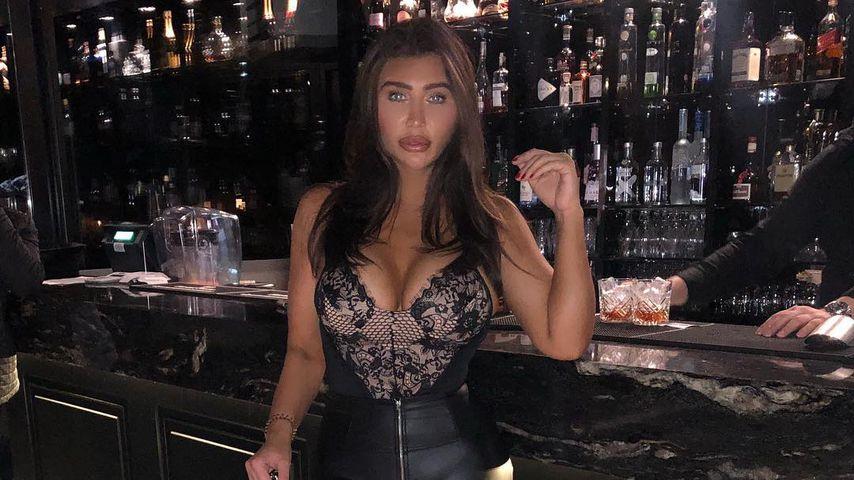 Lauren Goodger in London