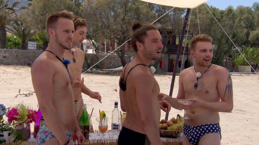 "Lauritz, Arne, Jacob und Vincent beim ""Prince Charming""-Date"