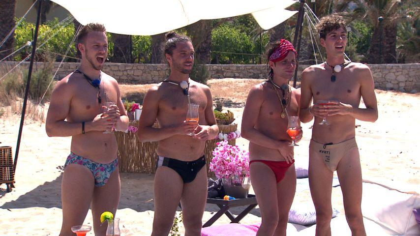 """Lauritz, Jacob, Gino und Arne beim """"Prince Charming""""-Date"""