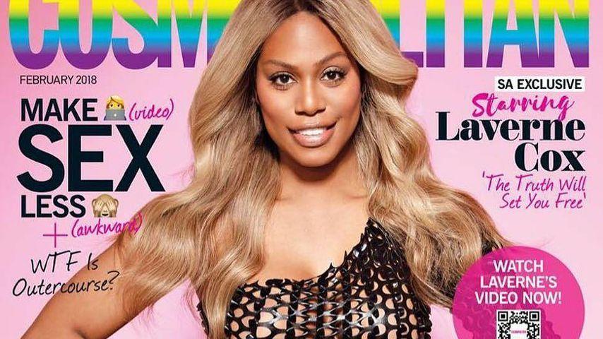 Laverne Cox stolz: Sie ist 1. Trans-Frau auf Cosmo-Cover!