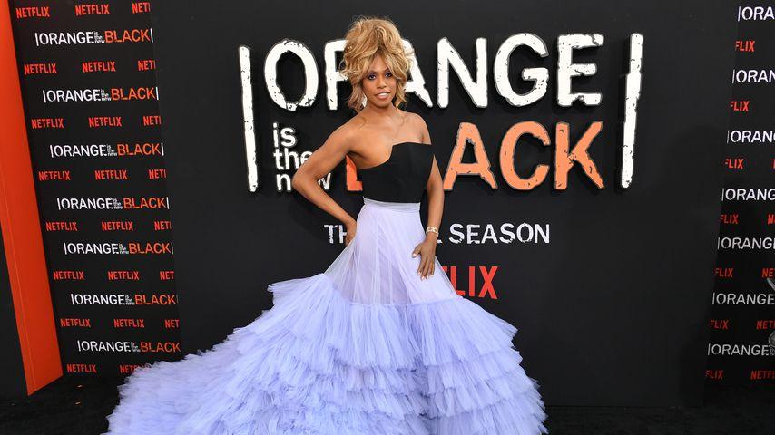 """Laverne Cox bei der Premiere der siebten """"Orange Is The New Black""""-Staffel"""