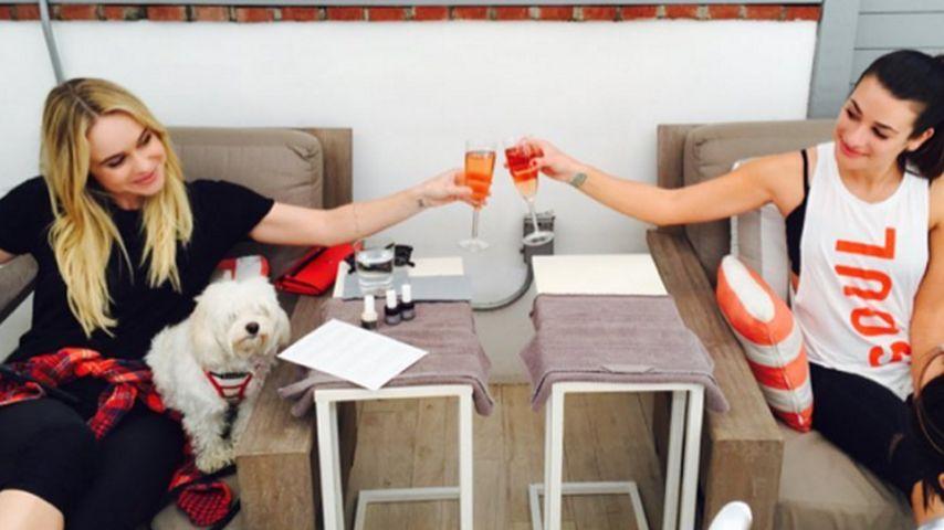 Lea Michele und Becca Tobin