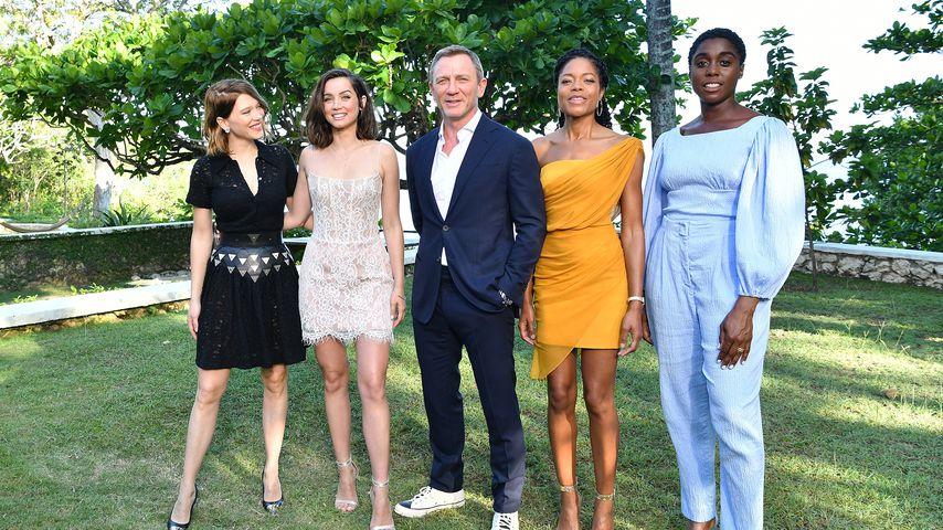 """Daniel Craig und die weiblichen Hauptdarstellerinnen für den 25. """"Bond""""-Film"""