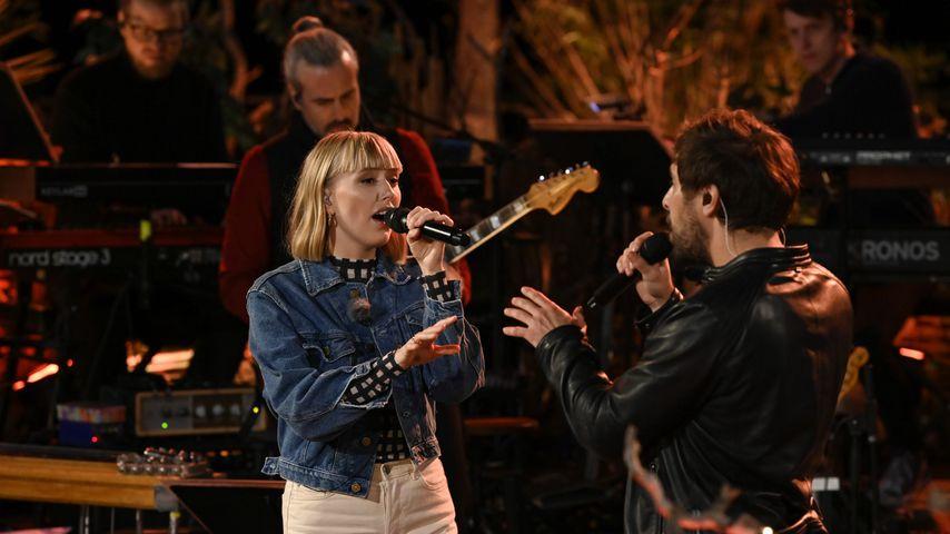 """Lea und Max Giesinger bei """"Sing meinen Song"""" 2020"""