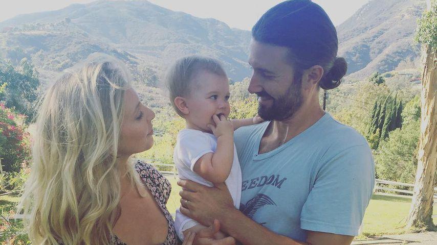 Leah und Brandon Jenner mit ihrer Tochter Eva James Jenner
