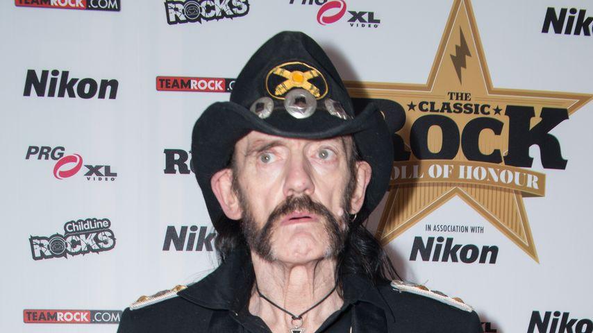 """""""Motörhead""""-Lemmy Kilmister stirbt 2 Tage nach Krebsdiagnose"""