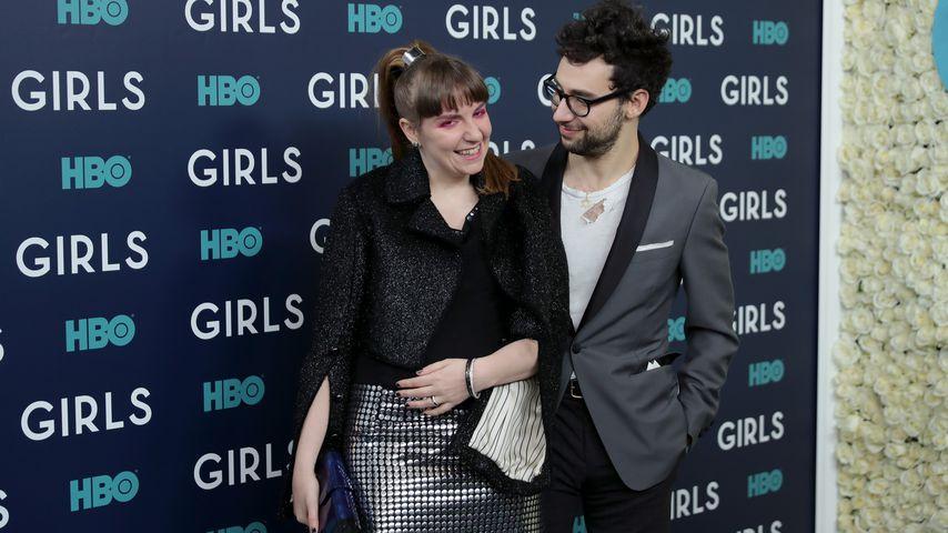 """Lena Dunham und Jack Antonoff bei der Premiere der sechsten Staffel von """"Girls"""""""