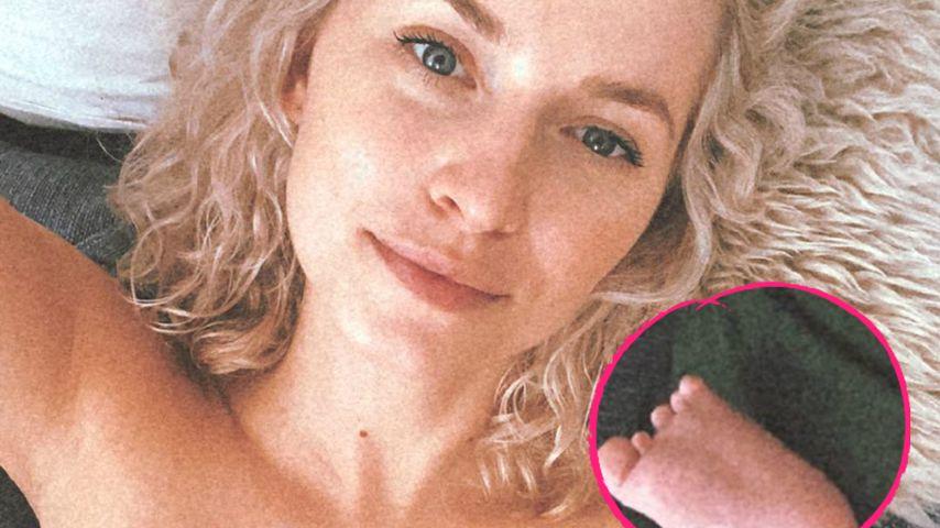 Neues Mama-Pic: Lena Gercke entspannt mit Töchterchen Zoe
