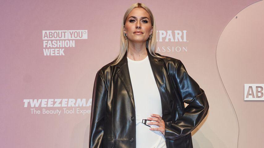 Lena Gercke bei der Fashion Week in Berlin, September 2021