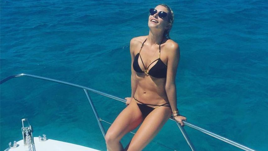 Heißes Yacht-Girl: Lena Gercke genießt das Urlaubs-Leben!