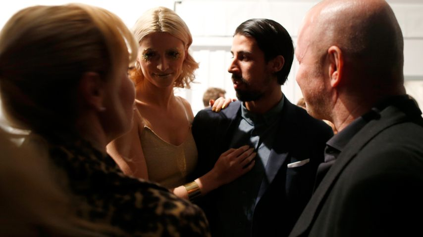 Sami Khedira, Lena Gercke und Berlin Fashion Week