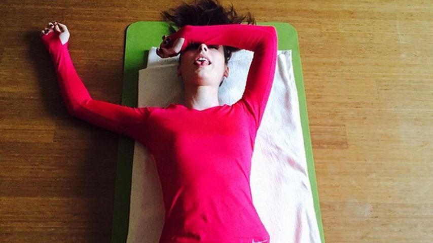 Total Fertig So Hart Trainiert Lena Meyer Landrut Promiflashde