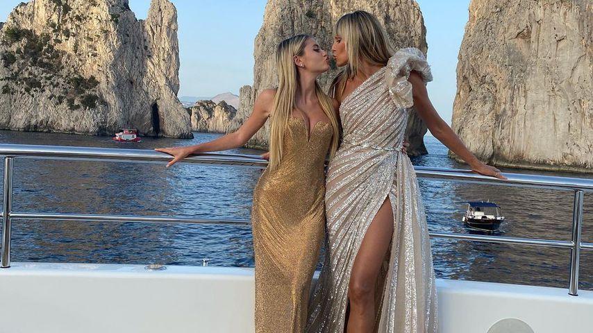 Heidi Klum und ihre Tochter Leni