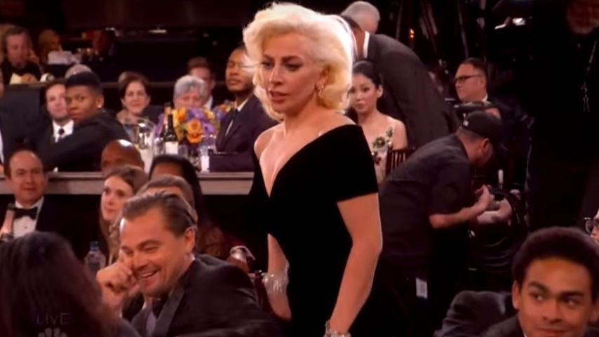 Vor dem Augenrollen: Leonardo DiCaprio lachte Lady GaGa aus