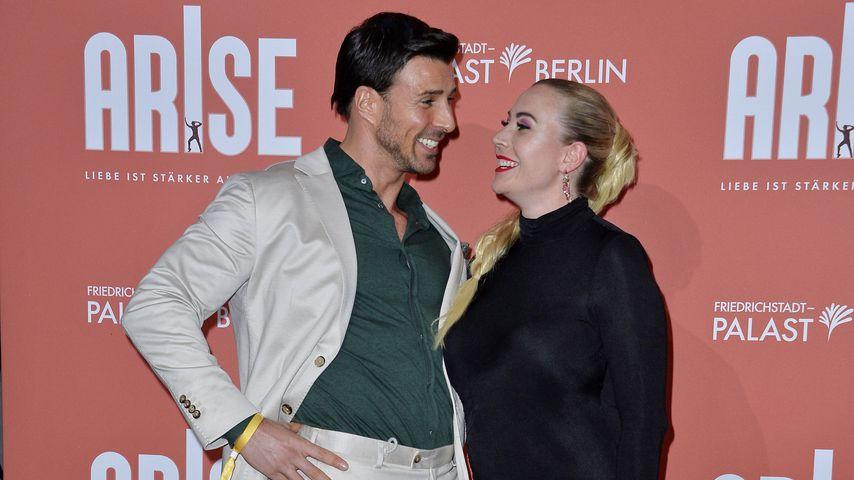 Leonard Freier und seine Frau Caona im September 2021 in Berlin