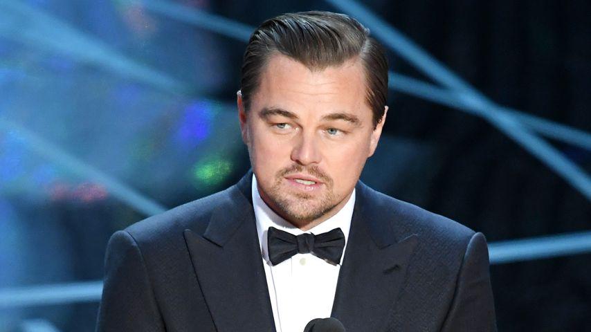 Leonardo DiCaprio spricht bei den Academy Awards