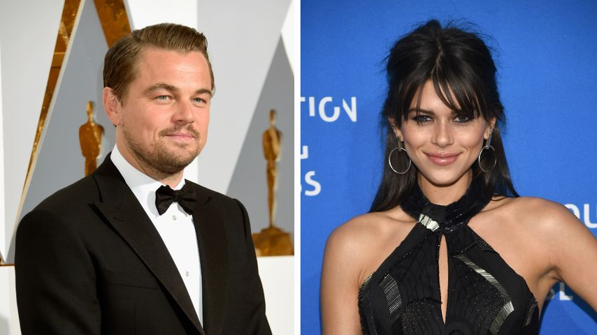 Mit Harry Styles' Ex: Leonardo DiCaprio flirty in Cannes!