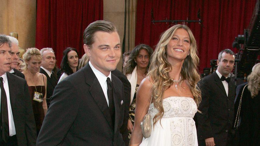 Leonardo DiCaprio und Gisele Bündchen bei den Oscars 2005