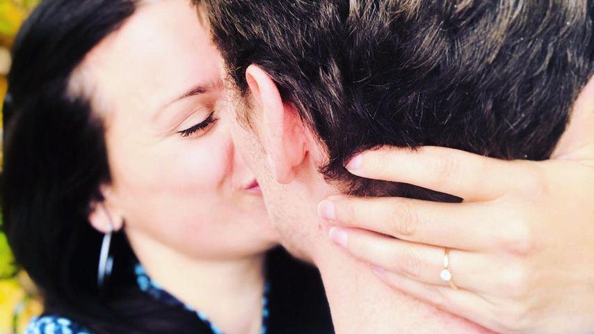 Leonie Koch mit ihrem Verlobten