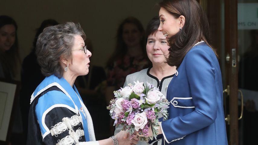 RCOG-Präsidentin Lesley Regan und Herzogin Kate