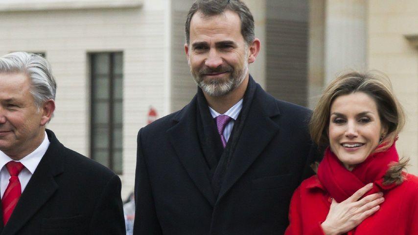 Prinzessin Letizia, Prinz Felipe von Spanien und Klaus Wowereit