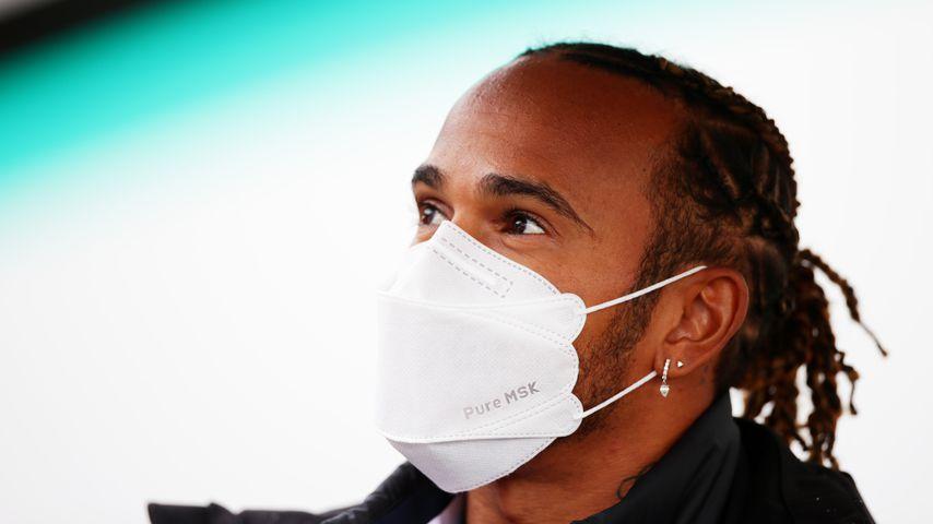 Lewis Hamilton vor dem Großen Preis der Emilia Romagna 2021
