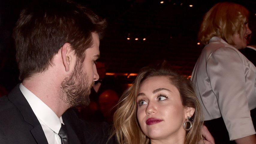 Liam Hemsworth und Miley Cyrus in Culver City