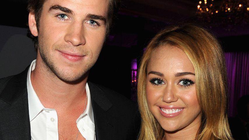 Liam Hemsworth und Miley Cyrus bei einem Benefizessen in Kalifornien