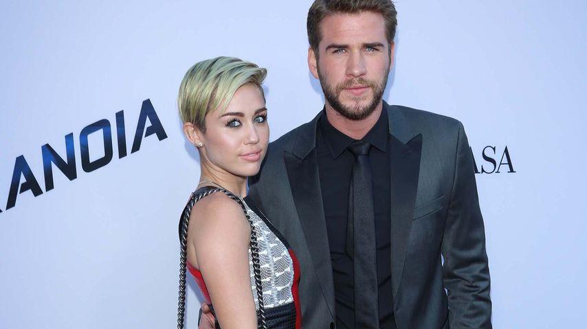 Schauspieler Liam Hemsworth und Sängerin Miley Cyrus