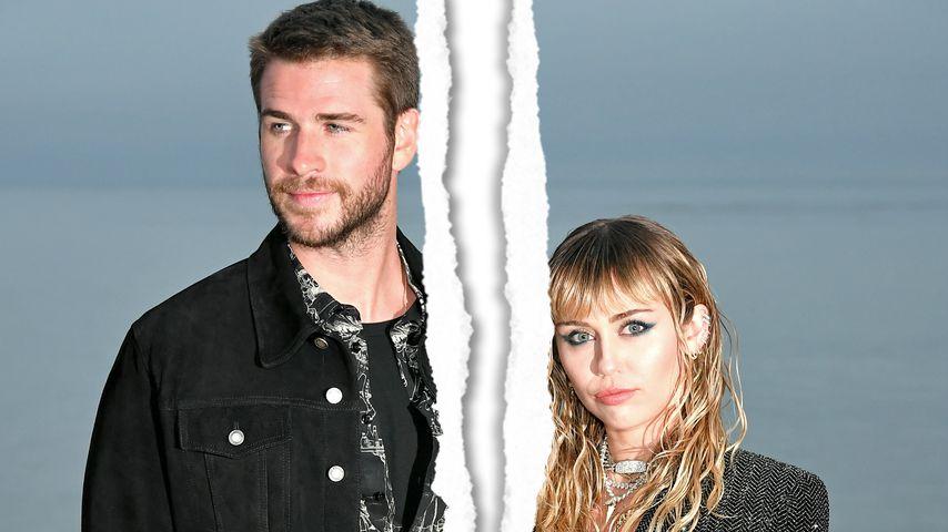 Eheglück hielt kein Jahr: Liam Hemsworth und Miley getrennt!