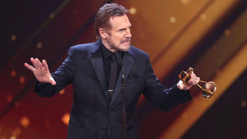 Liam Neeson im Februar 2018