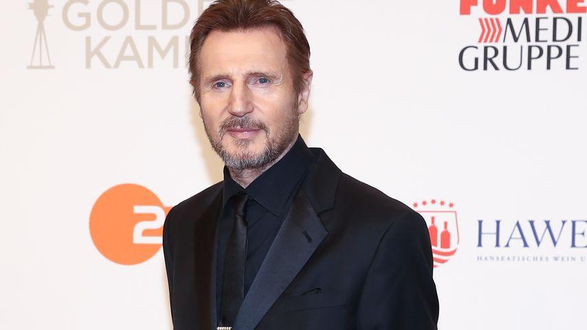 Liam Neeson bei der Goldenen Kamera 2018